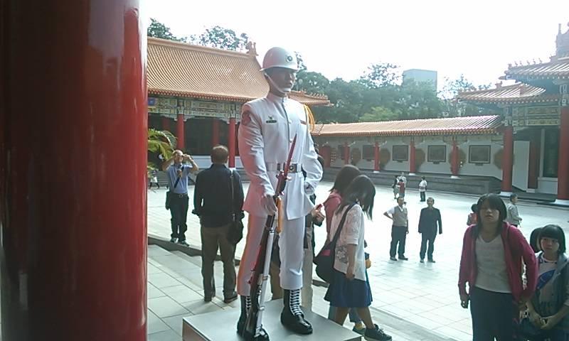 衛兵交代式